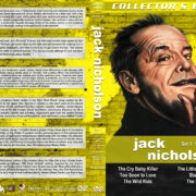 Jack Nicholson Filmography - Set 1 (1958-1962) R1 Custom DVD Cover