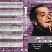 Jack Nicholson Filmography - Set 7 (1983-1987) R1 Custom DVD Cover