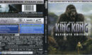 King Kong (2005) R1 4K UHD Blu-Ray Cover & Labels