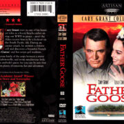 FATHER GOOSE (1964) R1 DVD COVER & LABEL