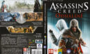 Assassin's Creed: Odhalení (2011) CZ/SK PC DVD Cover & Label