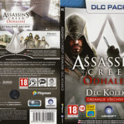 Assassin's Creed: Odhalení - DLC Pack (2011) CZ/SK PC DVD Cover & Label