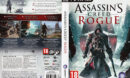 Assassin's Creed: Rogue (2015) CZ/SK PC DVD Cover & Label