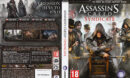 Assassin's Creed: Syndicate (2015) CZ/SK PC DVD Cover & Labels