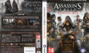 Assassin's Creed: Syndicate (2015) EU PC DVD Cover & Labels