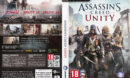 Assassin's Creed: Unity (2014) CZ/SK PC DVD Cover & Labels
