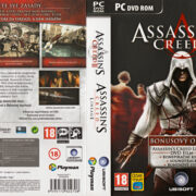 Assassin's Creed 2 - Dark Edition (2010) CZ PC DVD Cover & Labels