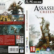 Assassin's Creed 3 (2012) CZ/SK PC DVD Cover & Label