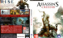 Assassin's Creed 3 (2012) EU PC DVD Cover & Label