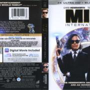 MIB International (2019) R1 4K UHD Blu-Ray Cover & Label