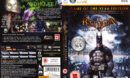 Batman: Arkham Asylum - GOTY (2010) EU PC DVD Cover & Label