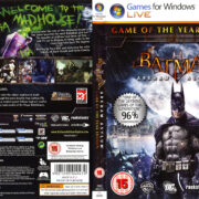 Batman: Arkham Asylum - GOTY (2010) EU PC DVD Cover & Label
