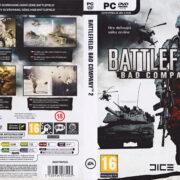 Battlefield: Bad Company 2 (2010) CZ/SK PC DVD Cover & Label
