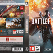 Battlefield 1 (2016) CZ PC DVD Cover & Labels