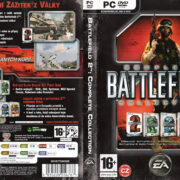 Battlefield 2 (2005) CZ PC DVD Cover & Label