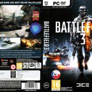 Battlefield 3 (2011) CZ PC DVD Cover & Labels
