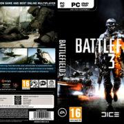 Battlefield 3 (2011) EU PC DVD Cover & Labels