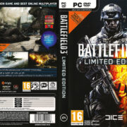 Battlefield 3 - Limited Edition (2011) EU PC DVD Covers & Labels