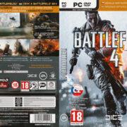 Battlefield 4 (2013) CZ PC DVD Cover & Labels