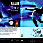 FIGURE SKATING THE EXHIBITION SALT LAKE (2002) R1 DVD COVER & LABEL