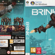 Brink (2011) CZ PC DVD Cover & Label