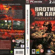 Brothers in Arms: Pekelná dálnice (2008) CZ PC DVD Cover & Label