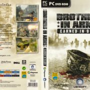 Brothers in Arms: Earned in Blood (2005) CZ PC DVD Covers & Label