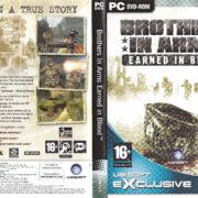 Brothers in Arms: Earned in Blood (2005) EU PC DVD Covers & Label