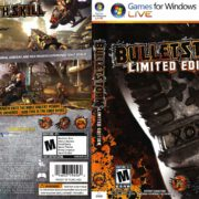 Bulletstorm - Limited Edition (2011) US PC DVD Cover & Label