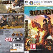 Bulletstorm (2011) CZ PC DVD Cover & Label