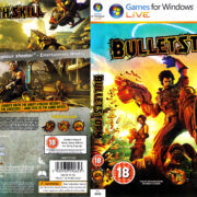 Bulletstorm (2011) UK PC DVD Cover & Label