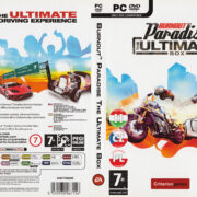 Burnout Paradise: The Ultimate Box (2009) CZ PC DVD Cover & Label