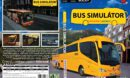 Bus simulator 2008 - Student Agency (2008) CZ PC DVD Cover & Label