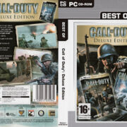 Call of Duty - Deluxe Edition (2004) EU PC DVD Cover & Labels