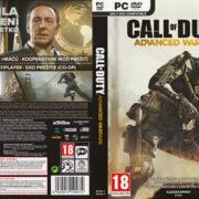 Call of Duty: Advanced Warfare (2014) CZ/SK PC DVD Cover & Labels