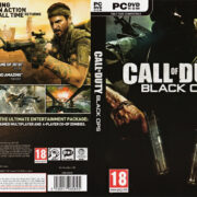 Call of Duty: Black Ops (2010) EU PC DVD Cover & Label