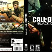 Call of Duty: Black Ops (2010) US PC DVD Cover & Label