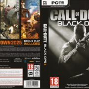 Call of Duty: Black Ops 2 (2012) CZ/SK PC DVD Cover & Labels