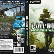 Call of Duty 4: Modern Warfare (2007) EU PC DVD Cover & Labels