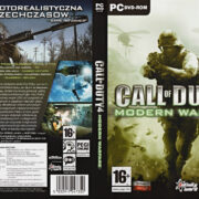 Call of Duty 4: Modern Warfare (2007) PL PC DVD Cover & Labels