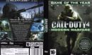 Call of Duty 4: Modern Warfare - GOTY (2007) EU PC DVD Cover & Label