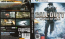 Call of Duty 5: World at War (2008) CZ PC DVD Cover & Label