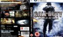 Call of Duty 5: World at War (2008) UK PC DVD Cover & Label
