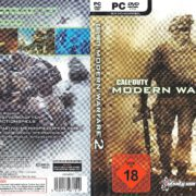 Call of Duty: Modern Warfare 2 (2009) GER PC DVD Cover & Labels