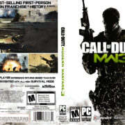 Call of Duty: Modern Warfare 3 (2011) US PC DVD Cover & Labels