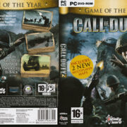 Call of Duty 2 - GOTY (2005) EU PC DVD Cover & Label