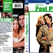 FOUL PLAY (1978) R1 DVD COVER & LABEL