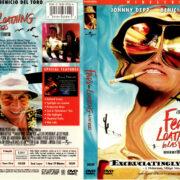 FEAR & LOATHING IN LAS VEGAS (1998) R1 DVD COVER & LABEL
