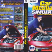 Car Mechanic Simulator 2014 (2014) CZ/SK PC DVD Cover & Label