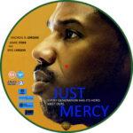 Just Mercy (2019) R2 Custom DVD Label
